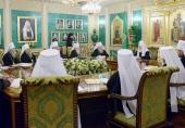 Завершилось последнее в 2013 году заседание Священного Синода Русской Православной Церкви