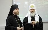 Предстоятель Русской Церкви освятил новое здание Сретенской духовной семинарии