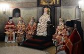 В день памяти священномученика Илариона, архиепископа Верейского, Предстоятель Русской Церкви совершил Литургию в Сретенском ставропигиальном монастыре