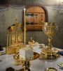Патриаршее служение в Сретенском монастыре. Божественная литургия в день памяти священномученика Илариона, архиепископа Верейского