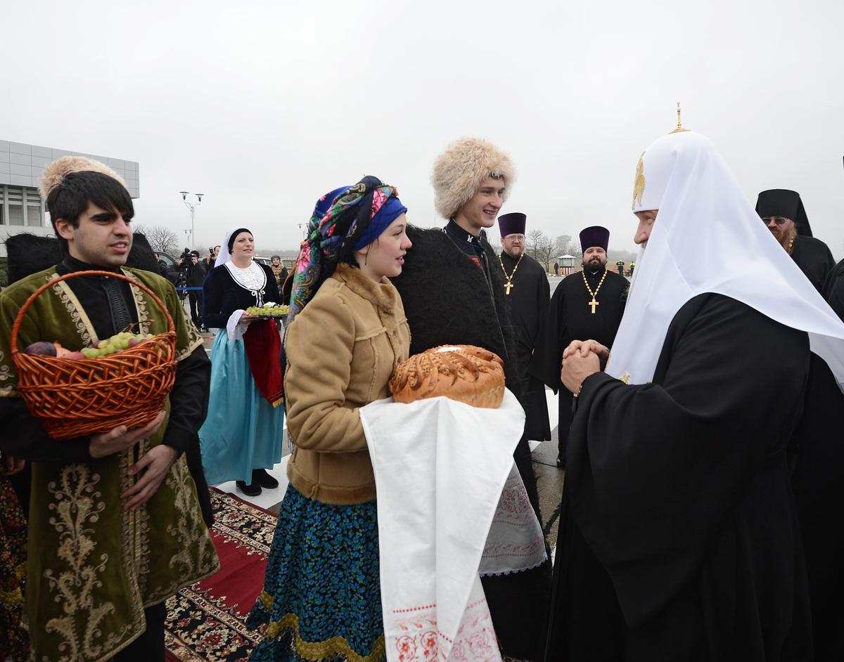 Патриарший визит в Ставропольскую митрополию. Прибытие в Пятигорскую епархию