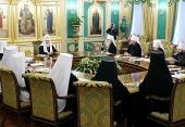 ЖУРНАЛЫ заседания Священного Синода от 12 марта 2013 года