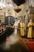 Патриаршее служение в день памяти святителя Петра, всея России чудотворца, в Успенском соборе Московского Кремля