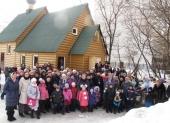 Святейший Патриарх Кирилл: Приходская община должна созидаться в процессе строительства новых храмов