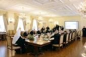 Святейший Патриарх Кирилл возглавил заседание Координационного комитета по поощрению социальных, образовательных, культурных и иных инициатив под эгидой Русской Православной Церкви