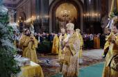Проповедь Святейшего Патриарха Кирилла в праздник Рождества Христова