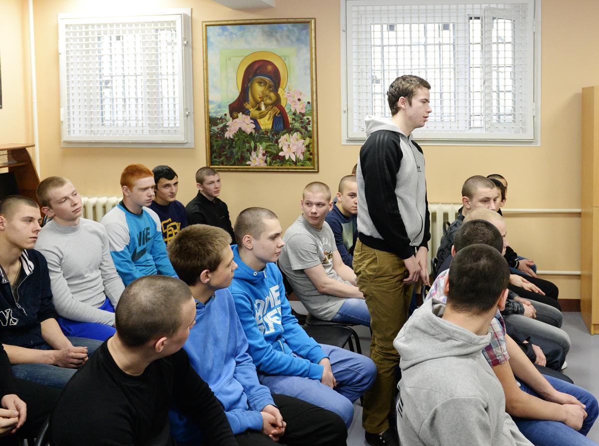 Посещение Святейшим Патриархом Кириллом следственного изолятора № 5 г. Москвы