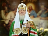 Слово Святейшего Патриарха Кирилла после великой вечерни в праздник Рождества Христова в Храме Христа Спасителя