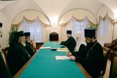 Святейший Патриарх Кирилл принял иерарха Антиохийской Православной Церкви