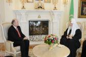 Святейший Патриарх Кирилл встретился с Послом Мексики Рубеном Альберто Бельтраном Герреро