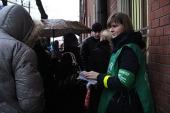 Более 500 православных волонтеров приняли участие в организации доступа верующих к Дарам волхвов в Храме Христа Спасителя