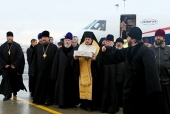Дары волхвов доставлены в Санкт-Петербург