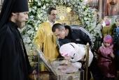 Более 400 тысяч человек поклонились Дарам волхвов в Москве