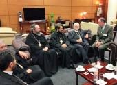 Началась рабочая поездка митрополита Волоколамского Илариона в Мексику