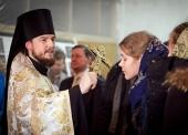В Москве прошел молебен перед отъездом православных волонтеров на Олимпиаду в Сочи