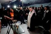 Синодальный отдел по социальному служению открыл в Москве первый пункт обогрева бездомных