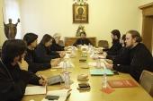 Состоялось первое заседание рабочей группы по выработке единого образовательного стандарта и оценке качества учебников для бакалавриата духовных школ