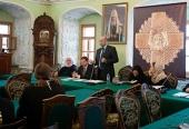 Юридическая служба Московской Патриархии провела семинар в Московской духовной академии