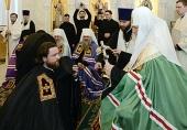 Слово архимандрита Григория (Петрова) при наречении во епископа Троицкого и Южноуральского