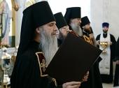 Слово архимандрита Мефодия (Кондратьева) при наречении во епископа Каменского и Алапаевского
