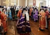 Слово Святейшего Патриарха Кирилла при вручении архиерейского жезла Преосвященному Мефодию (Кондратьеву), епископу Каменскому и Алапаевскому