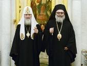 Совместное обращение Предстоятелей Антиохийской и Русской Православных Церквей к участникам Международной конференции по Сирии «Женева-2»