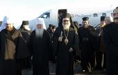 Начался официальный визит Блаженнейшего Патриарха Антиохийского в пределы Русской Православной Церкви