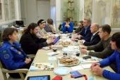 В рамках Рождественских чтений состоялся круглый стол «Здоровье нации: Православие, физическая культура и спорт»
