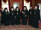 Предстоятель Антиохийской Церкви посетил Троице-Сергиеву лавру и Московские духовные школы