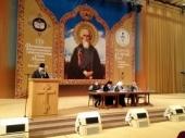 Выступление председателя Синодального отдела религиозного образования и катехизации на секции «Православная культура в современной школе» в рамках Рождественских чтений