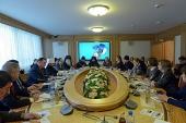 В Госдуме состоялось заседание секции Рождественских парламентских встреч, посвященной поддержке соотечественников за рубежом