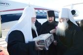 Предстоятель Русской Церкви прибыл в Волгоград