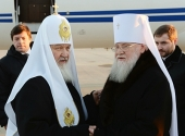 Святейший Патриарх Кирилл прибыл в Сочи