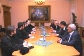 Председатель Отдела внешних церковных связей Московского Патриархата провел встречу с представителями сирийской оппозиции