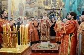 Святейший Патриарх Кирилл вознес молитвы о упокоении погибших в результате нападения в кафедральном соборе Южно-Сахалинска