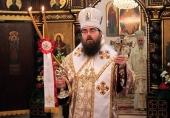 Поздравление Святейшего Патриарха Кирилла Блаженнейшему Митрополиту Ростиславу с возведением на Первосвятительский престол Православной Церкви Чешских земель и Словакии