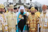 Делегация Русской Православной Церкви приняла участие в торжествах по случаю интронизации нового Предстоятеля Православной Церкви Чешских земель и Словакии