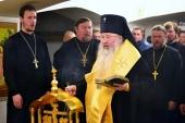 В Южно-Сахалинске состоялось отпевание погибших в результате нападения в Воскресенском кафедральном соборе