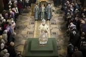 В Санкт-Петербурге состоялось открытие года преподобного Сергия Радонежского