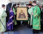 В Таджикистан принесена чтимая икона преподобного Сергия Радонежского