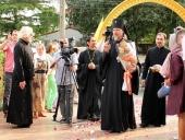 Архиепископ Егорьевский Марк совершил великое освящение Никольского храма в Бангкоке