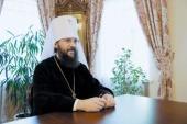 Управляющий делами Украинской Православной Церкви обратился к верующим в связи с кровавым противостоянием в Киеве