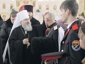 Митрополит Ставропольский и Невинномысский Кирилл: Работа по воцерковлению казаков требует взвешенного подхода
