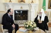 Святейший Патриарх Кирилл встретился с главой Республики Дагестан Р.Г.Абдулатиповым