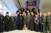 В Военном университете Министерства обороны РФ состоялся третий выпуск военных священнослужителей