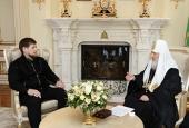 Состоялась встреча Святейшего Патриарха Кирилла с главой Чеченской Республики Р.А. Кадыровым