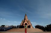 Слово Святейшего Патриарха Кирилла со ступеней Крестовоздвиженского собора г. Лесосибирска