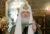 Святейший Патриарх Кирилл: Человек, верующий в Бога, не совершит братоубийство