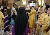 Слово Святейшего Патриарха Кирилла при вручении архиерейского жезла Преосвященному Викторину (Костенкову), епископу Сарапульскому и Можгинскому