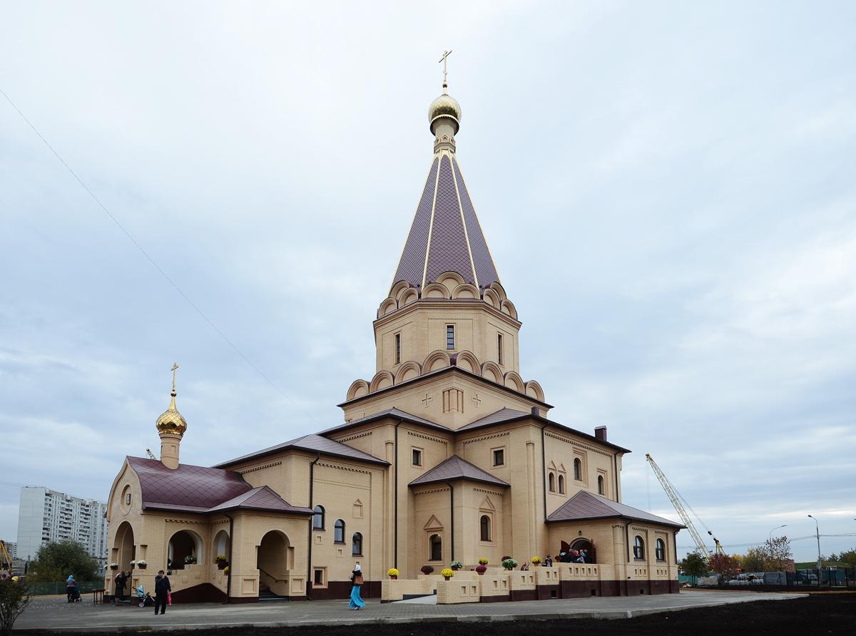 Освящение храма Усекновения главы Иоанна Предтечи в Братеево